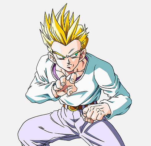 Dragon Ball Z Characters Goten - 56.3KB
